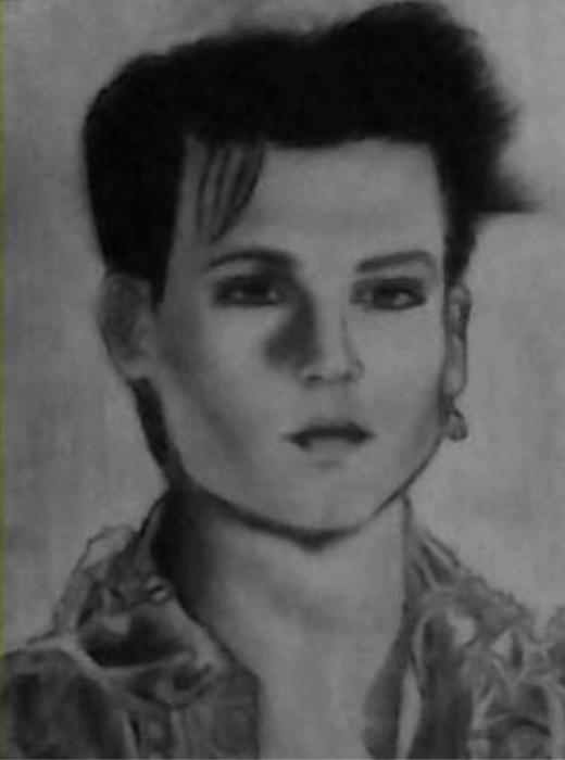 Johnny Depp by sally